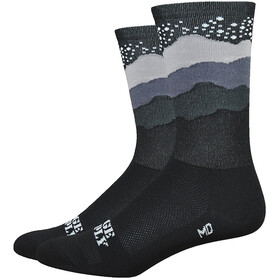 "DeFeet Aireator 6"" Socken Ridge Supply Skyline Starry Night (schwarz)"